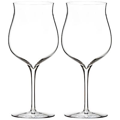 Waterford Elegance Burgundy Glasses, Set of 2
