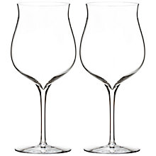 Buy Waterford Elegance Burgundy Glasses, Set of 2 Online at johnlewis.com