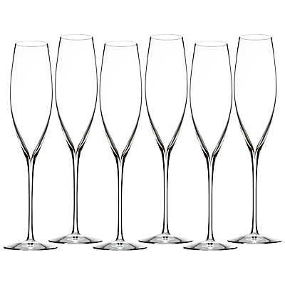 Waterford Champagne Toasting Flutes, Set of 6