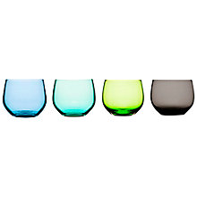 Buy Sagaform Spectra Tumblers, Set of 4, Blue Online at johnlewis.com