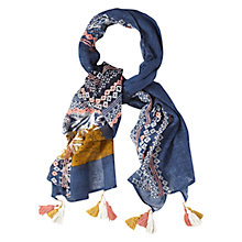 Buy White Stuff Blank Canvas Scarf, Multi Online at johnlewis.com