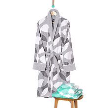 Buy Lindsey Lang Scallop Bath Robe, Small - Medium Online at johnlewis.com