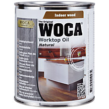 Buy WOCA Worktop Oil, 750ml Online at johnlewis.com