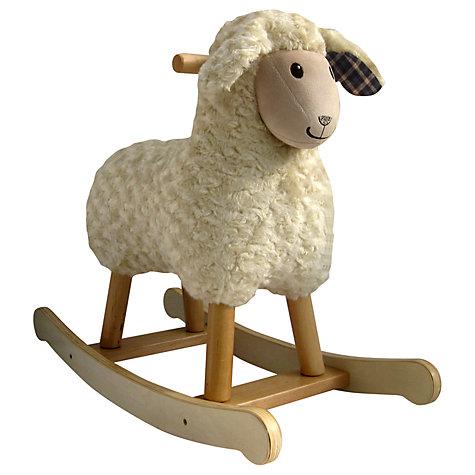 buy little bird told me lambert rocking sheep john lewis. Black Bedroom Furniture Sets. Home Design Ideas