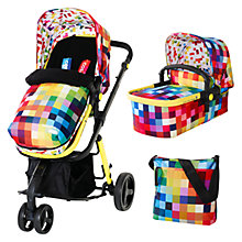 Buy Cosatto Giggle Baby Pushchair, Pixelate Online at johnlewis.com