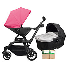 Buy Orbit Baby G3 Pushchair and Accessories Package, Raspberry Online at johnlewis.com