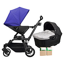 Buy Orbit Baby G3 Pushchair and Accessories Package, Blueberry Online at johnlewis.com