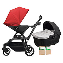Buy Orbit Baby G3 Pushchair and Accessories Package, Red Online at johnlewis.com