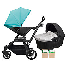 Buy Orbit Baby G3 Pushchair and Accessories Package, Teal Online at johnlewis.com