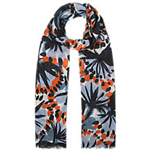 Buy Whistles Frou Frou Floral Print Scarf, Multi Online at johnlewis.com