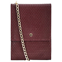 Buy Whistles Circle Leather Pouch Bag Online at johnlewis.com