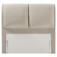 Buy John Lewis Natural Collection Harewood Full Depth Headboard, Canvas Pebble, Super King Size Online at johnlewis.com