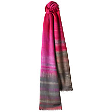 Buy Jaeger Wool Blend Abstract Scarf Online at johnlewis.com