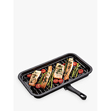 Buy Kitchen Craft Enamel 40cm Grill Online at johnlewis.com