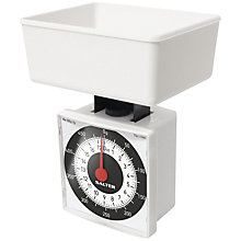 Buy John Lewis Salter Diet Mechanical Scale, White Online at johnlewis.com