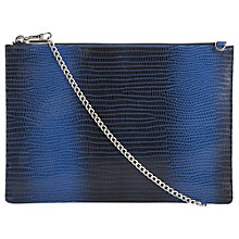 Buy Whistles Graduated Lizard Rivington Clutch Bag Online at johnlewis.com