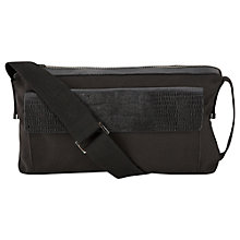 Buy Whistles Nylon Camera Bag, Black Online at johnlewis.com