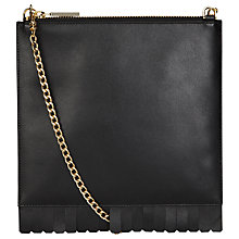 Buy Whistles Fringe Perry Chain Clutch Bag Online at johnlewis.com