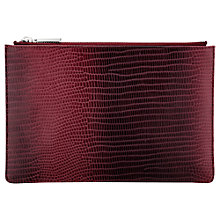 Buy Whistles Graduated Lizard Small Clutch Bag Online at johnlewis.com