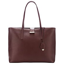 Buy Whistles Fleet Tote Bag, Tan Online at johnlewis.com