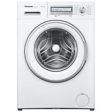 Buy Panasonic NA-148VB6W Freestanding Washing Machine, 8kg Load, A+++ Energy Rating, 1400rpm, White Online at johnlewis.com