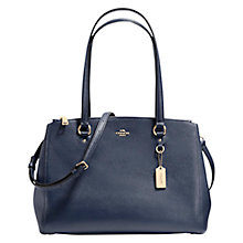 Buy Coach Crossgrain Double Zip Leather Caryall Bag Online at johnlewis.com