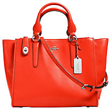 Buy Coach Crosby Carryall Leather Bag Online at johnlewis.com