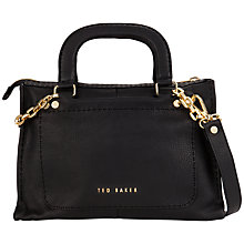 Buy Ted Baker Chanory Chain Trim Leather Tote Bag Online at johnlewis.com