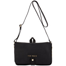Buy Ted Baker Chanun Chain Trim Leather Cross Body Bag Online at johnlewis.com