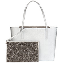 Buy Ted Baker Jasmena Large Leather Shopper Bag Online at johnlewis.com