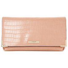 Buy Dune Edee Foldover Frame Detail Clutch Bag Online at johnlewis.com