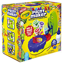 Buy Crayola Paint Maker Online at johnlewis.com