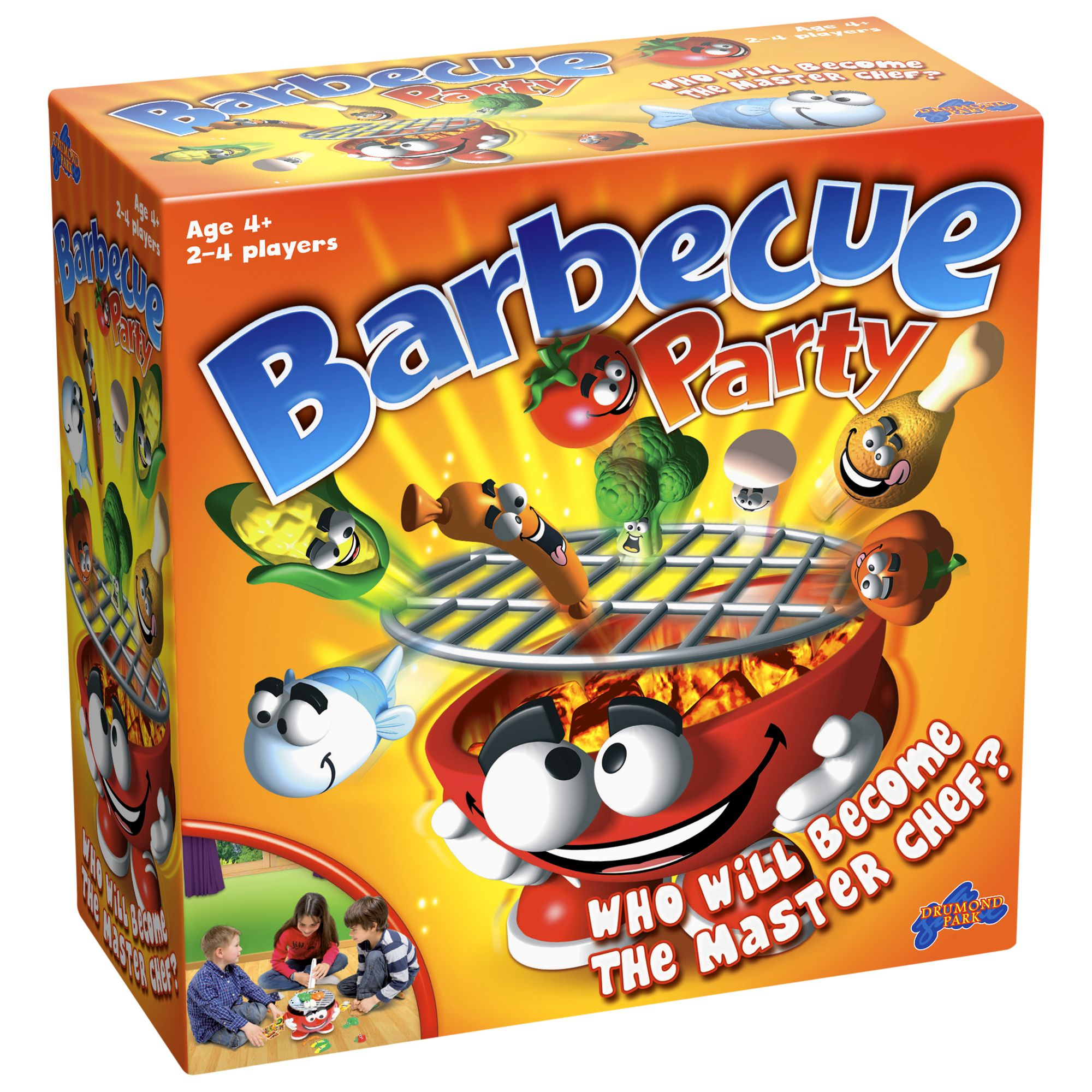 Drumond Park Barbecue Party Game