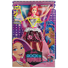 Buy Barbie Rock 'n' Royals Courtney Doll Online at johnlewis.com