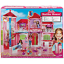 Buy Barbie Malibu House Set Online at johnlewis.com