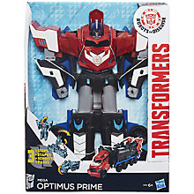 Buy Transformers Mega Optimus Prime Figure Online at johnlewis.com