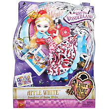 Buy Ever After High Apple White Doll Online at johnlewis.com