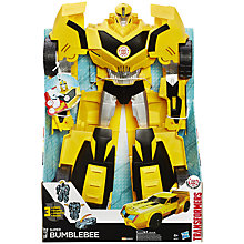 Buy Transformers Super Bumblebee Action Figure Online at johnlewis.com