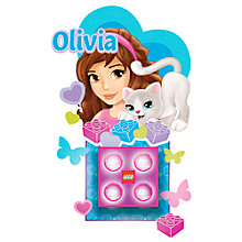 Buy LEGO Friends Olivia Nitelite & Stickers Online at johnlewis.com