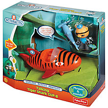 Buy Fisher-Price Octonauts Talking Tiger Shark GUP-B Online at johnlewis.com
