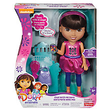 Buy Fisher-Price Dora And Friends Chat With Me Dora Online at johnlewis.com