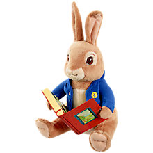 Buy Beatrix Potter Storytelling Peter Rabbit Toy Online at johnlewis.com