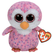 Buy Ty Beanie Boo Glider Penguin Soft Toy Online at johnlewis.com