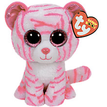Buy Ty Beanie Boo Asian White Tiger Soft Toy Online at johnlewis.com