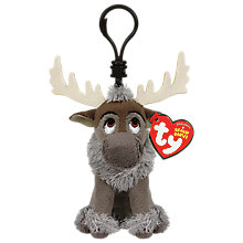 Buy Ty Disney Frozen Sven Beanie Key Clip Online at johnlewis.com