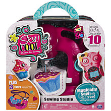 Buy John Lewis Exclusive Spin Master Sew Cool Sewing Studio Online at johnlewis.com