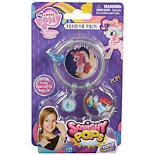 Buy My Little Pony Squishy Pops Fashion Pack, Assorted Online at johnlewis.com