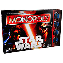 Buy Star Wars Episode VII: The Force Awakens Monopoly Game Online at johnlewis.com