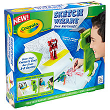 Buy Crayola Sketch Wizard Online at johnlewis.com