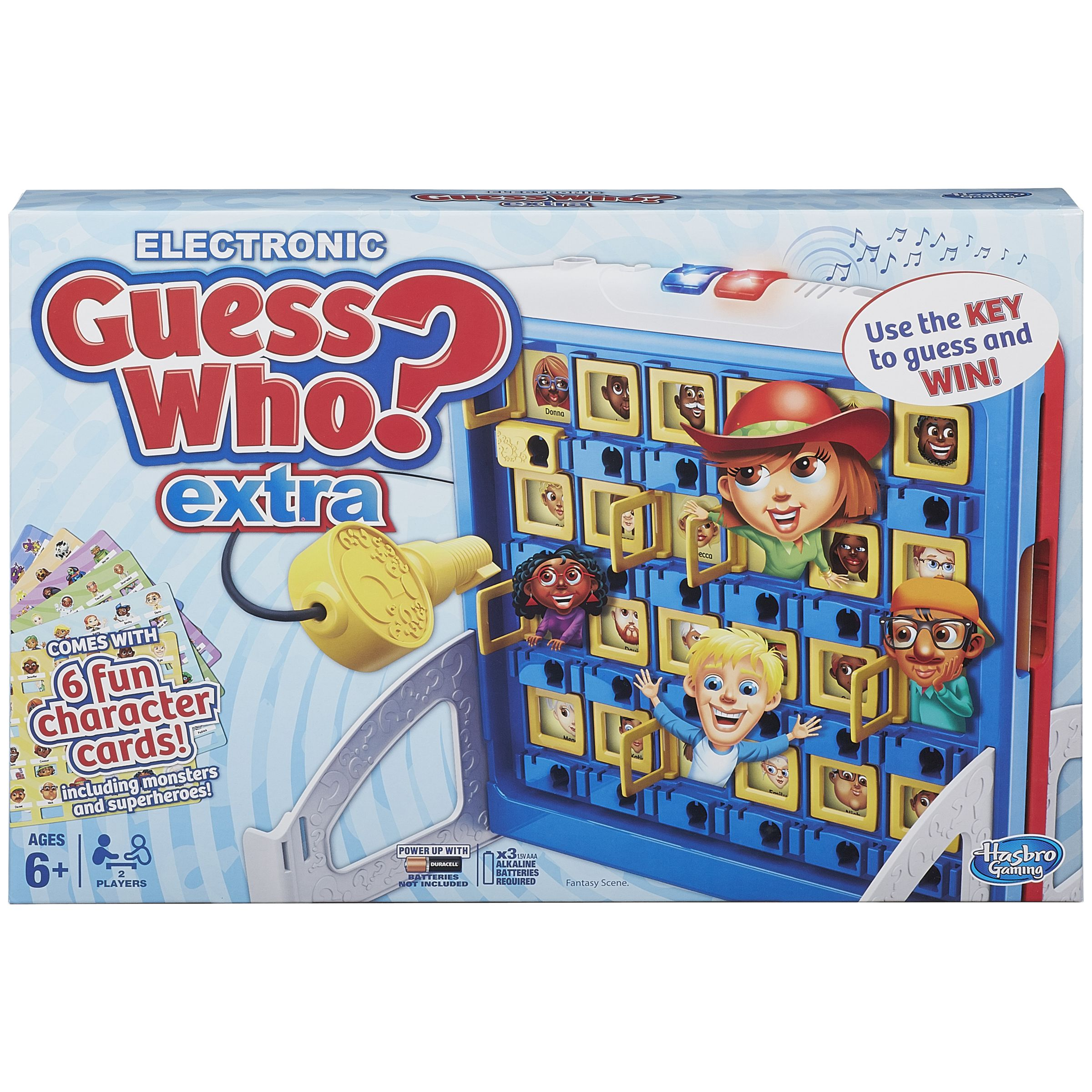 MB Games Guess Who? Electronic Extra Game
